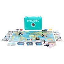 Настольная игра Pandemic 10th Anniversary Edition (на английском), фото 2