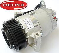 Компрессор кондиционера на Renault Trafic III / Opel Vivaro B 1.6dCi с 2014... Delphi (Китай) TSP0155928, фото 1