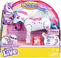 Интерактивный танцующий единорог Искорка Little Live Pets Unicorn Butterbow