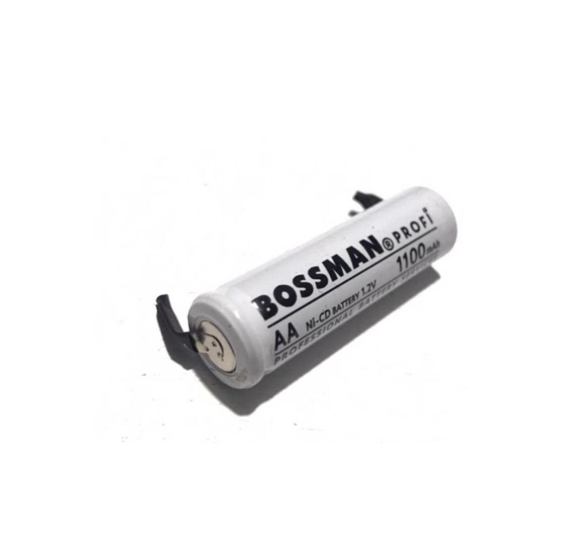 Акумулятор технічний Bossman-Profi AA/HR6 1,2 V 1100mAh (Ni-Cd) з контактами для пайки