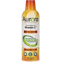 Aurora Nutrascience, Mega-Liposomal Vitamin C, Organic Fruit Flavor, 3,000 mg, 16 fl oz (480 ml)