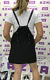 Летний комплект-двойка:сарафан и футболка черно-белый.AZNA. Літній костюм-двійка:сарафан та футболка., фото 3