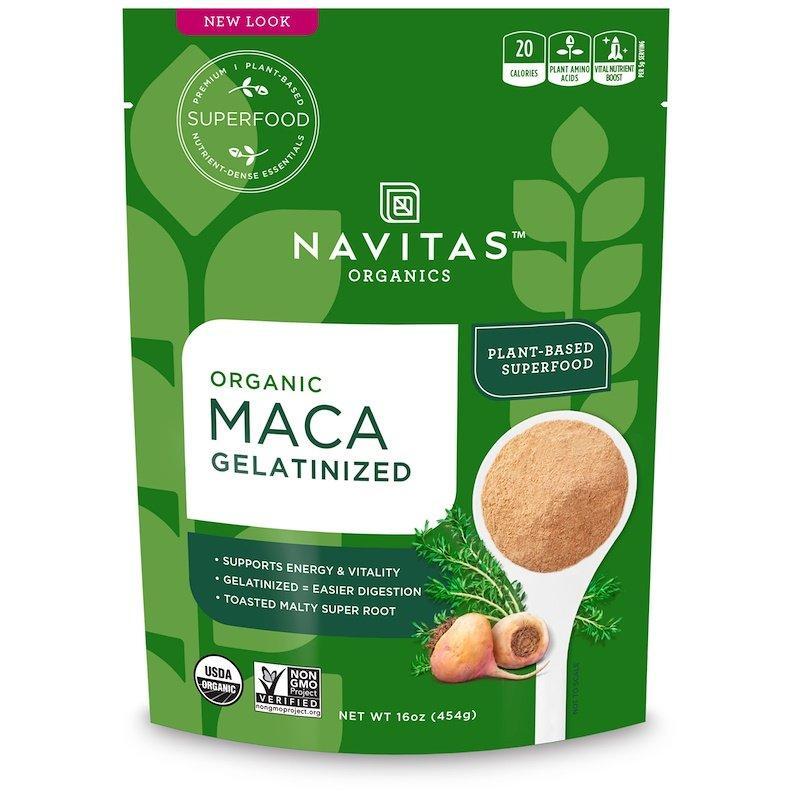 Navitas Organics, Органическая мака, желатинизированная, 454 г (16 унций)