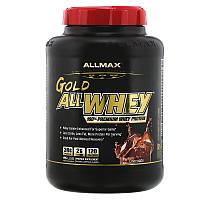ALLMAX Nutrition, Gold AllWhey, 100% сывороточный протеин премиального качества,вкус шоколад, 2.27кг