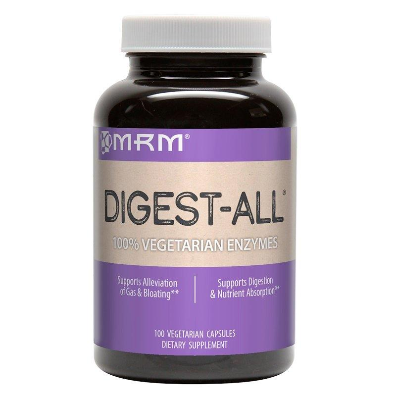 MRM, Digest-All, 100 капсул вегетаріанських