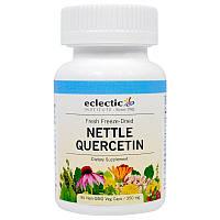 Eclectic Institute, Кверцетин из крапивы, 350 мг, 90 растительных капсул