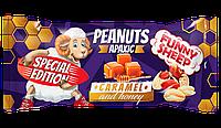 """Арахіс смажений в карамелі з медом """"Funny Sheep"""" 60г. Арахіс у карамелі з медом. Арахис в карамели с медом"""