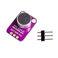 Датчик звуку, мікрофонний підсилювач MAX4466, фото 1