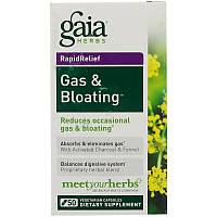 Gaia Herbs, RapidRelief, швидкодіючий засіб від газоутворення і здуття живота, 50 капсул, фото 1