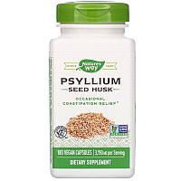 Nature's Way, Psyllium Seed Husk, Шелуха семян подорожника, 3150 мг, 180 веганских капсул