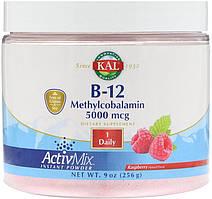 KAL, B-12 Methylcobalamin, Малина, 5,000 mcg, 9 oz (256 g)
