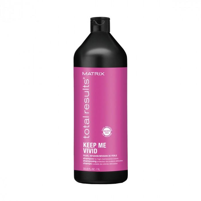 Шампунь для сохранения цвета ярких оттенков волос Matrix Keep Me Vivid 1000ml