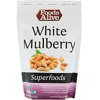 Foods Alive, Чудо-пища, шелковица белая, 8 унц. (227 г)