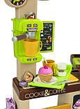 Интерактивная кофейня Smoby Toys Coffee House со звуковыми эффектами и аксессуарами (350214), фото 4