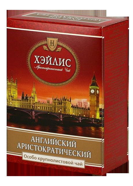 Крупнолистовий Чай Чорний Англійський Аристократичний  100гр. Hyleys