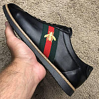 Gucci Falacer Sneaker Web with Bee Black
