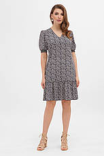 GLEM летнее платье с мелкими цветами Мальвина к/р, фото 2