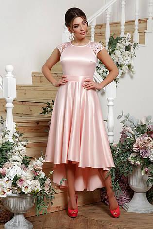 GLEM платье Нинель к/р, фото 2