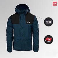 The North Face 1985 Seasonal Mountain Jacket - BLACK/BLUE