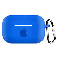 Чехол для AirPods PRO silicone case with Apple Ultra blue