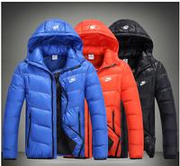 Мужская куртка пуховик   Nike  МК 084-И