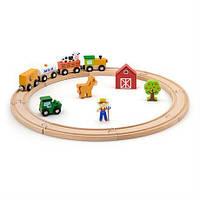 Залізниця Viga Toys, 19 деталей (51615)