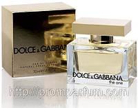 Женская оригинальная парфюмированная вода Dolce&Gabbana The One, 50ml NNR ORGAP /54