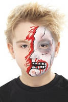 Грим, шрамы, спецэффекты, усы, бороды на Хеллоуин Halloween