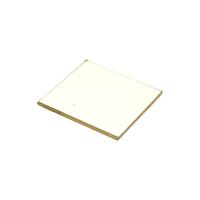 Плафон (защитное стекло) 75х75х5 на лампу освещения для пицца печи GGF