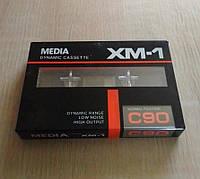 Аудио кассета MEDIA XM-1 C-90 новая, фото 1