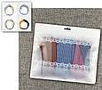 Зип-пакеты со струнным замком zip-lock зип-лок универсальные Lace Basic 24,5см х 20,5см, фото 9