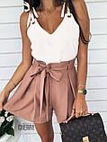 Женская летняя кофточка. Цвет: белый, чёрный, сирень, пудра, фото 5