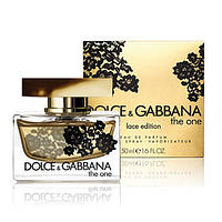 Туалетная вода Dolce & Gabbana The One Lace Edition