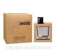 Мужская оригинальная туалетная вода Dsquared He Wood, 50ml  NNR ORGIN /1-52