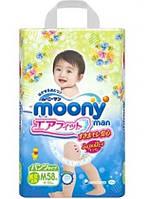 Moony Трусики для начинающих ходить М (6-10кг) 58 шт
