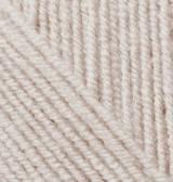 Турецкая пряжа Alize Superlana Klasik для ручного вязания полушерсть морская ракушка №168