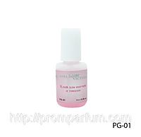 Розовый клей для ногтей и типсов Lady Victory LDV PG-01/44-0