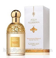 Женская оригинальная туалетная вода Guerlain Aqua Allegoria Mandarine Basilic, 75ml NNR ORGIN
