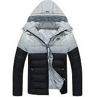 Мужская куртка пуховик   Nike  МК 085-И
