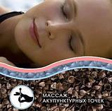 Ортопедическая подушка из гречневой лузги 40х60 (тик) с молнией, фото 2