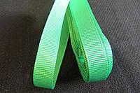 Тесьма твидовая, в рулоне,ш-1см, цвет-зеленый, (5м-15)