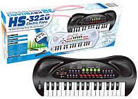Детский синтезатор с микрофоном HS 3220A