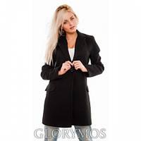 """Пальто женское """"Oversize""""черное,кашемировое пальто"""