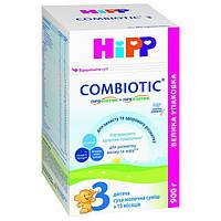 HiPP. Детская сухая молочная смесь HiPP Combiotic 3  (12 m+)900 г, карт. упаковка ( арт. 2446)