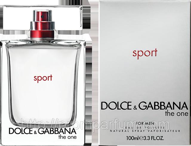 Мужская туалетная вода Dolce & Gabbana The One Sport Men (реплика)