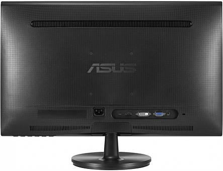 """Монітор ASUS 23.6"""" VS247HR Black; 1920 x 1080, 2 мс, 250 кд/м2, D-Sub, HDMI, DVI-D, фото 2"""
