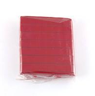 Полимерная глина, темно красная