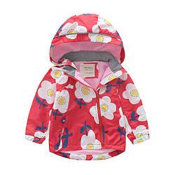 Куртка для девочки демисезонная Ромашки Meanbear (90)