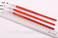 Профессиональная кисть для подводки. Соболь. Afrodita №28. 7ммП №28 PAL /0-31
