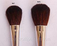 Профессиональная кисть для румян (бронзера) из козы Afrodita №7. 35мм  PAL